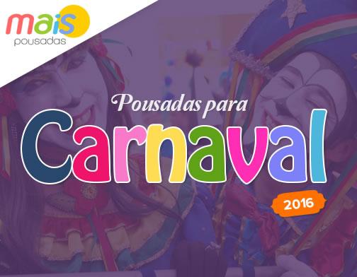 Pousadas para Carnaval 2015