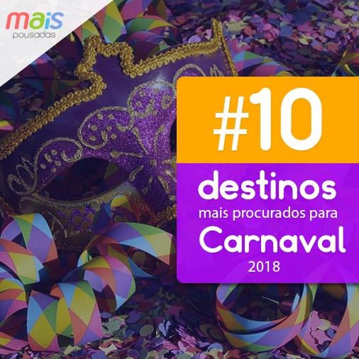 Pousadas para Carnaval 2018